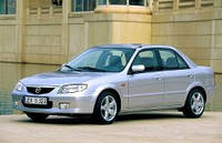 Лобовое стекло Mazda 323 4Д+5Д ,Мазда 323 1998-2003AGC