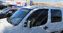 Вітровики вікон Фіат Добло 1 (дефлектори бокових вікон Fiat Doblo 1)