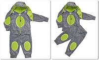 Велюровый детский костюм Зайченок