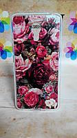 Чехол силиконовый бампер для Meizu M3 Note с рисунком Розы, фото 1