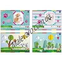 Набор  цветной бумаги,  глянец, односторонняя,отрывные листы, А-4, 10 цветов, 10 листов, плотность 170г/м2