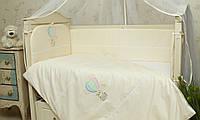 Детское сменное постельное белье в кроватку Круиз