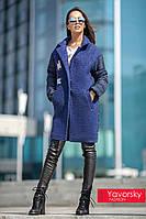 """Женское пальто из плащевки и шерсти """"Julia"""""""
