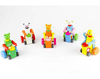 Деревян. заводная игрушка 2012-61