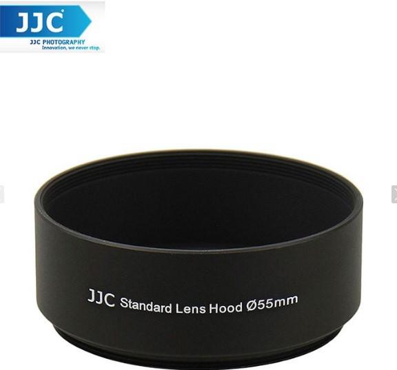Бленда JJC LN-55S  (Ø55mm Standard Lens Hood) Metal