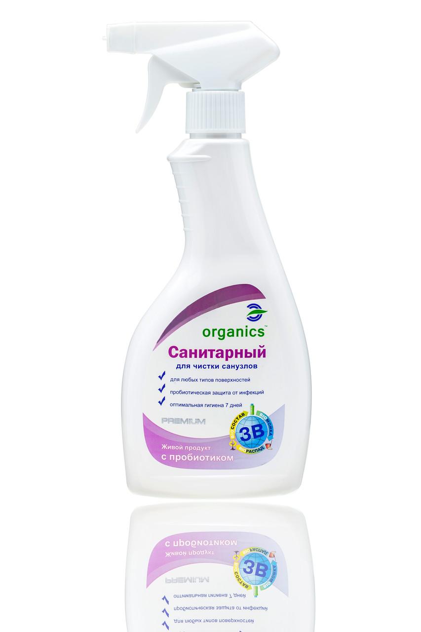 Моющее средство для санузлов Organics Санитарный 500мл