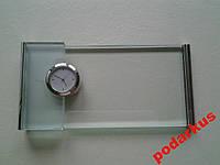 Часы подставка стекло распродажа