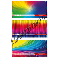 Набор  цветной бумаги,  двухсторонняя, отрывные листы, А-3, 10 цветов, 20 листов, плотность 80г/м2