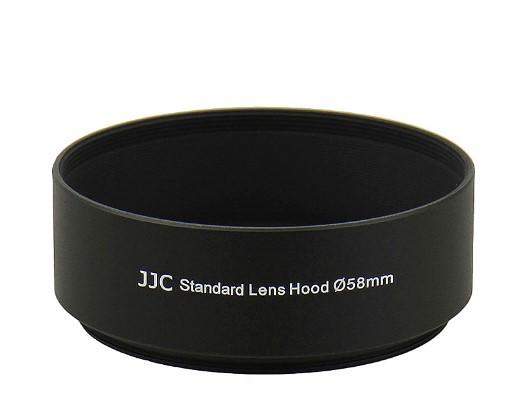 Бленда JJC LN-58S  (Ø58mm Standard Lens Hood) Metal