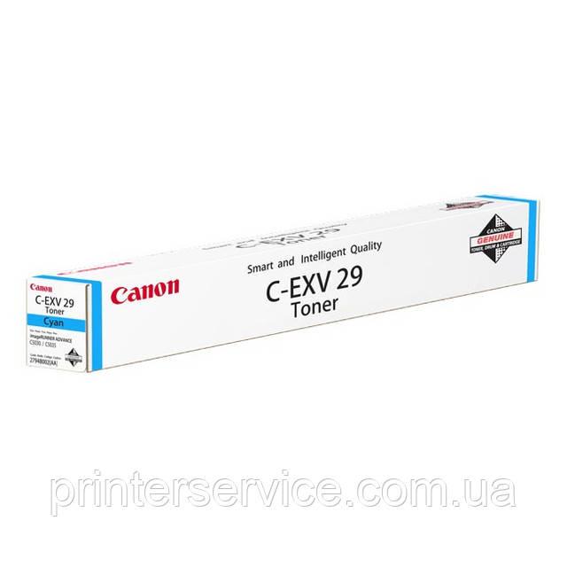 Тонер Canon C-EXV29 Cyan для iRC5030/ 5035 (2794B002)