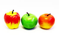 Муляжи фруктов-пенопласт-12 шт