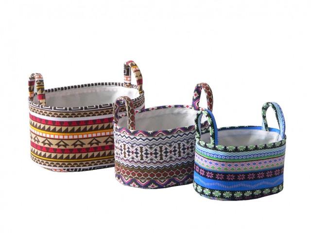 Коробы и корзины для вещей