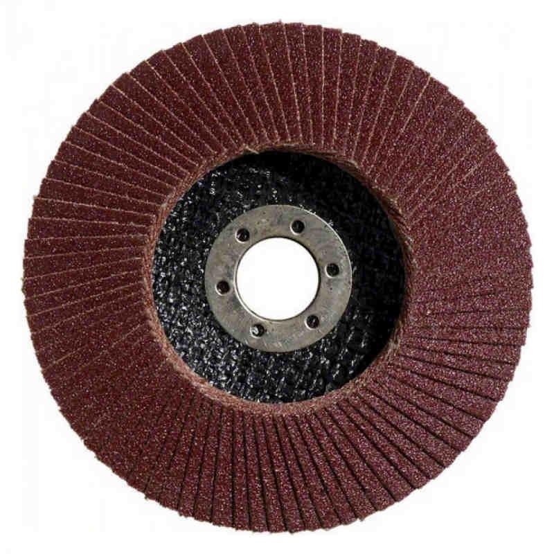 Лепестковый круг Bosch Standard for Metal Ø125 K120 прокладка из стекловолокна, конусный