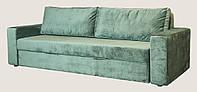 Диван Гармония ткань велюр категория D+подлокотники-200  (спальное место 2000х1460 мм)