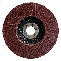 Лепестковый круг Bosch Standard for Metal Ø115 K80 прокладка из стекловолокна, конусный