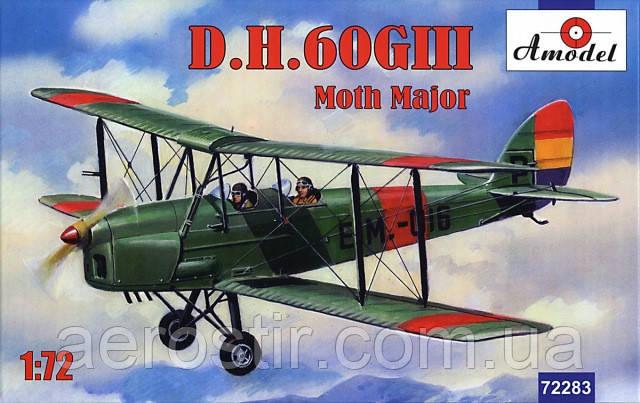 D.H.60GIII Moth Major 1/72 AMODEL 72283