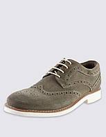 Стильные замшевые туфли Marks&Spenser на мальчика, размеры 32-39, 5