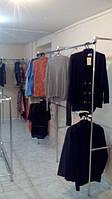 Магазин для одежды из труб