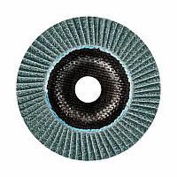 Лепестковый круг Bosch Best керамический корунд Ø125 K36 прокладка из стекловолокна, конусный