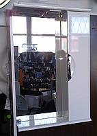 Зеркало З-01ВР-50 белое (500*165*705) правое с подсветкой, ТМ Николь