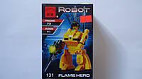 """Конструктор пластиковый """"Робот-трансформер.Robot"""" 73ел в коробке 140*100*45мм,Englighten,6+.Пластиковый констр"""