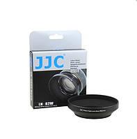 Бленда JJC LN-62W (Ø62mm Wide Angle Lens Hood) Metal (for Sony, Minolta), фото 1