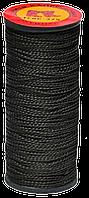 Нить капроновая черная 375текс, 40м (упак. 10 шт) (Украина)