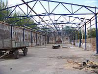 Будівництво зерносховища 15*80*5.