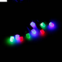 Гирлянда свечки 40 разноцветных светодиодов