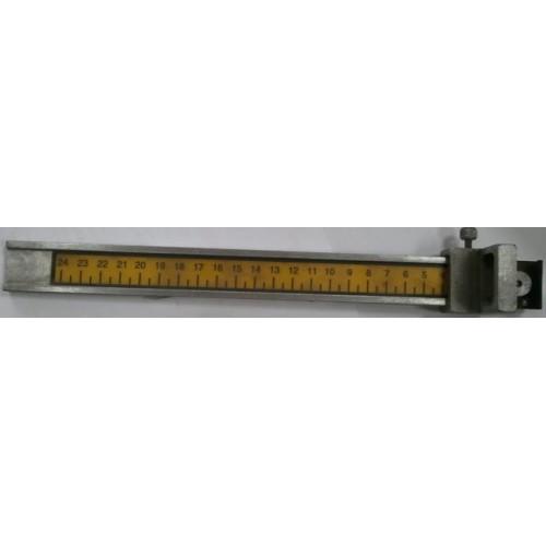 Измерительная линейка (для приклеивания грузика) для балансировочного станка BRIGHT