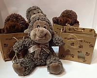 "Игрушка ""Обезьянка"" в подарочном пакете, фото 1"