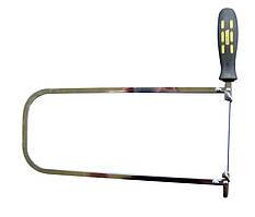 Лобзик STANLEY, длина лезвия 110 мм, 18 зубьев на дюйм, длина 290 мм.