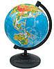 Глобус мира физический, диаметр 160мм