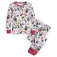 """Пижама детская для девочки """"Минни Маус"""" Дисней оригинал, США (размер: 7;10):"""
