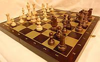 """Шахматы деревянные подарочные Украина с классическими утяжеленными фигурами в стиле """"Стаунтон"""""""