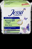 Гигиенические прокладки Jessa Ultra-Binden Normal+Flügel Aloe Vera, 16 шт