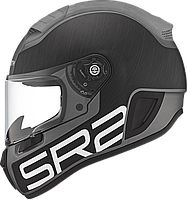 Мотошлем Schuberth SR2 Pilot черный серый мат 58/59 (L)