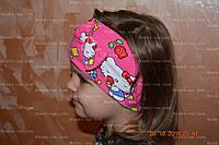 Пов'язка дитяча для волосся. Минимаус і Хэлоу Кіті
