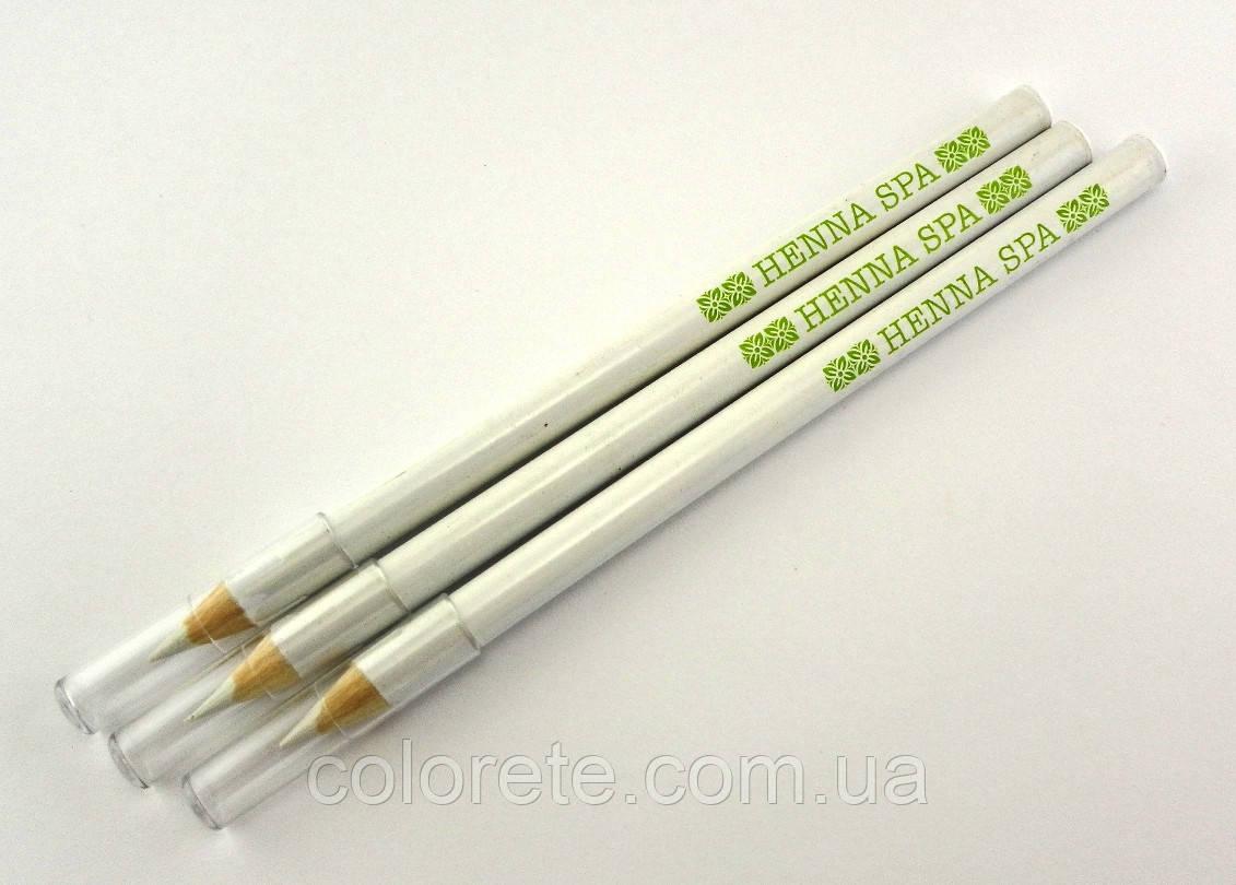 Разметочный белый карандаш Henna Spa