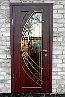 """Двері вхідні металеві декоративні """"під замовлення"""" у Дніпрі"""