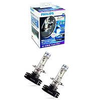 Комплект диодных ламп PHILIPS 12953BWX2 LED H4 more vision +150%