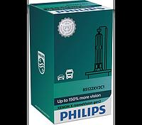 Автолампа ксенон PHILIPS 85415XV2C1 D1S 85V 35W PK32d-2 X-tremeVision gen2 +150%