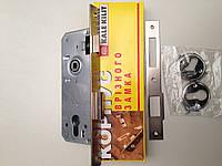 Врезной замок Kale 152 R 35mm. Для деревянных и металлических дверей