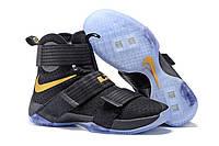 Мужские баскетбольные кроссовки Nike Lebron Soldier 10 Black