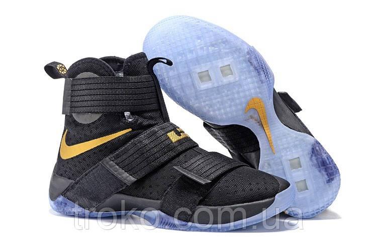 Мужские баскетбольные кроссовки Nike Lebron Soldier 10 Black -  TROKO-обувь,аксессуары,парфюмерия 2dff7fd82f7