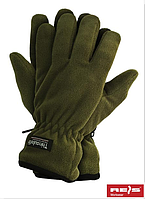 Зимние перчатки флис + Thinsulate, олива. Reis Польша.