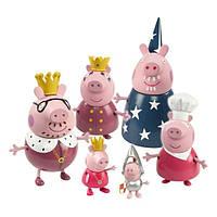 Набор фигурок Peppa серии Принцесса Королекская семья 6 фигурок (28875)