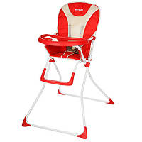 Детский стульчик для кормления Q01-CHAIR-3, красный***