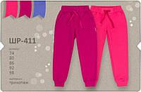 Штанишки трикотажные для девочек  ШР 411 Бемби