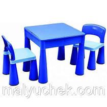Столик и два стульчика Tega Mamut. Цвет:синий